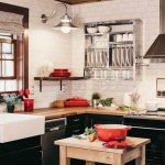 Как да увеличите площта на малката кухня